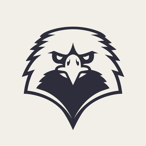Eagle Mascot Vector Icon