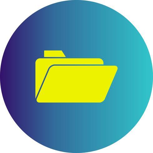 ícone de pasta de vetor