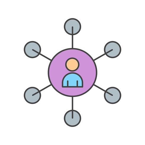 vektor seo användarikon