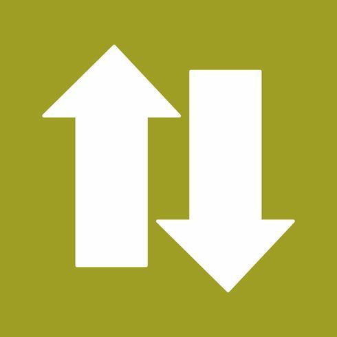 icono de flechas vectoriales