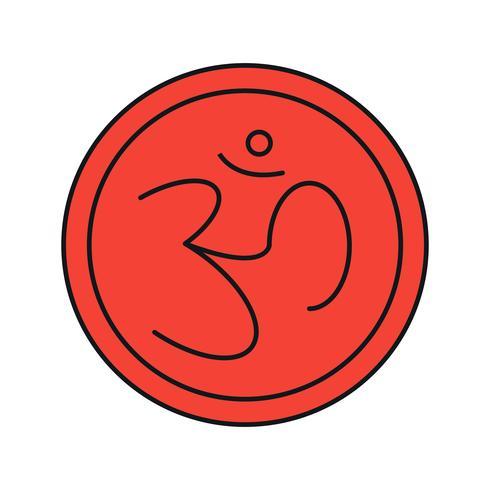 vector sign hindu icon