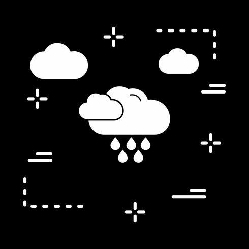Vektor-Regen-Symbol