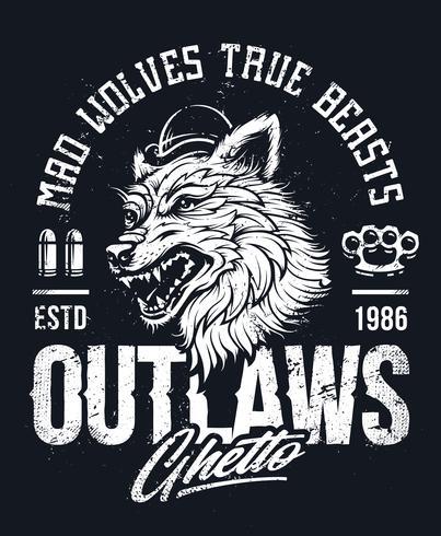 alter Schulwolf