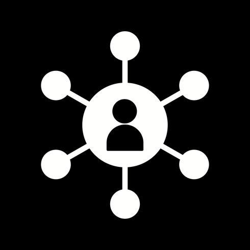 icono de usuario seo vector