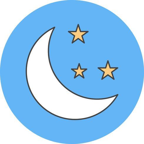 icône de vecteur de lune