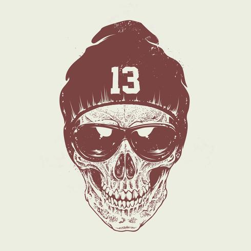 Dotwork cráneo arte