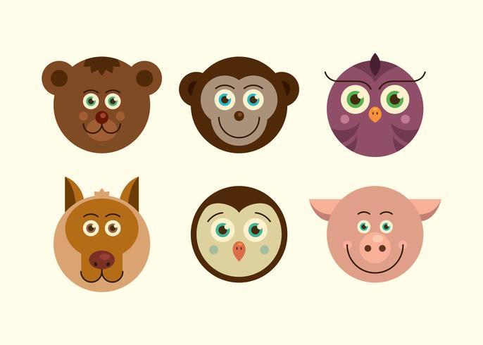 Animal ansikten