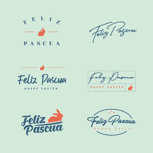 Pack de typographie Feliz Pascua