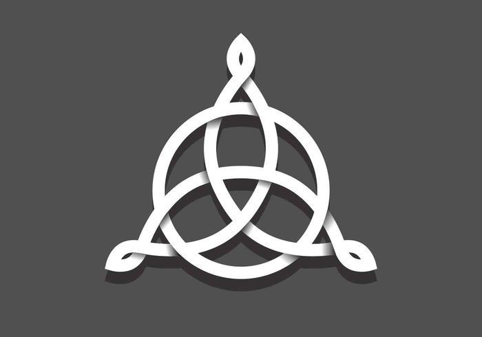 Illustration vectorielle Triquetra