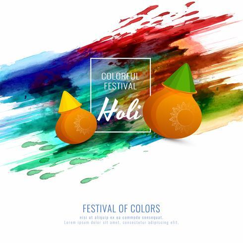 Fondo variopinto astratto felice di festival di Holi