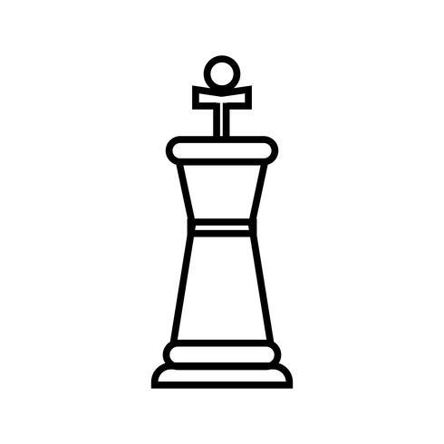 Icona linea nera