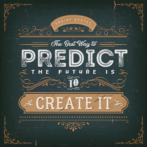 De beste manier om het toekomstige citaat te voorspellen
