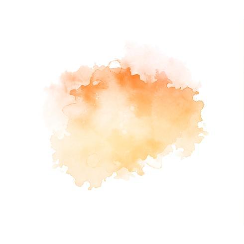 Abstrakter schöner Aquarellspritzen-Designvektor