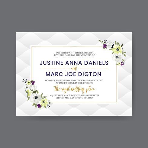 White Flower Wedding Design