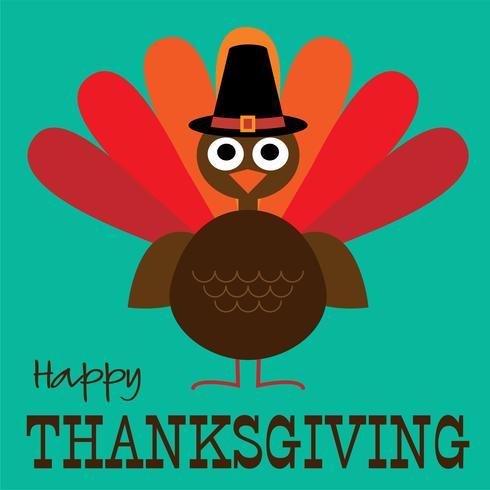 thanksgiving cute turkey graphic