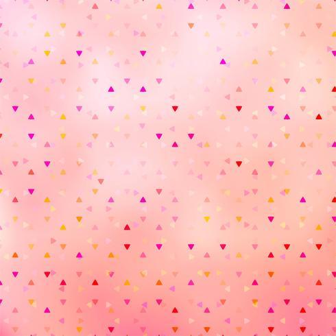 Abstracte kleurrijke driehoek geometrische achtergrond