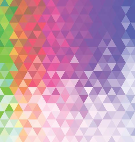 Abstrakt färgrik bakgrund med trianglar