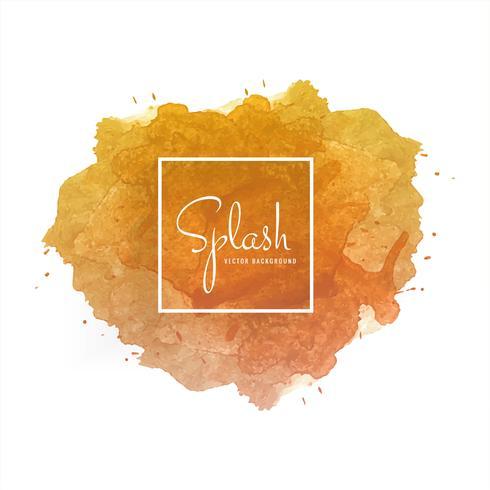 Elegant colorful splash watercolor background