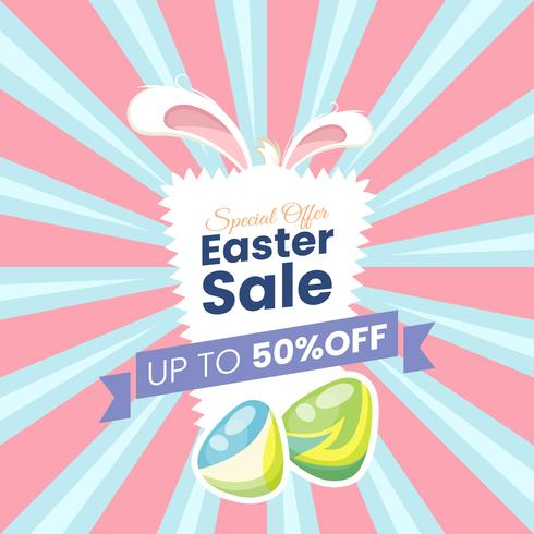 Happy easter sale offer