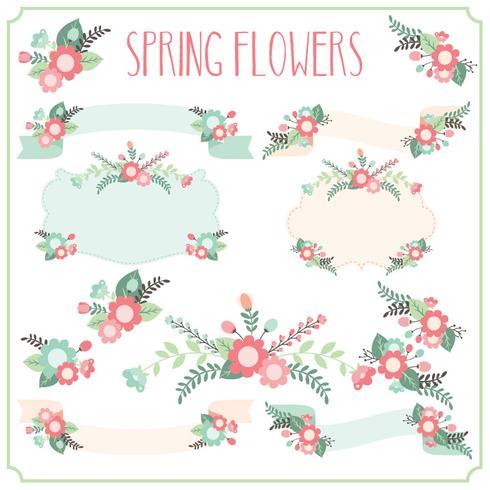 Spring Flower Frames