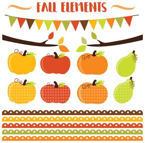 Calabazas de otoño