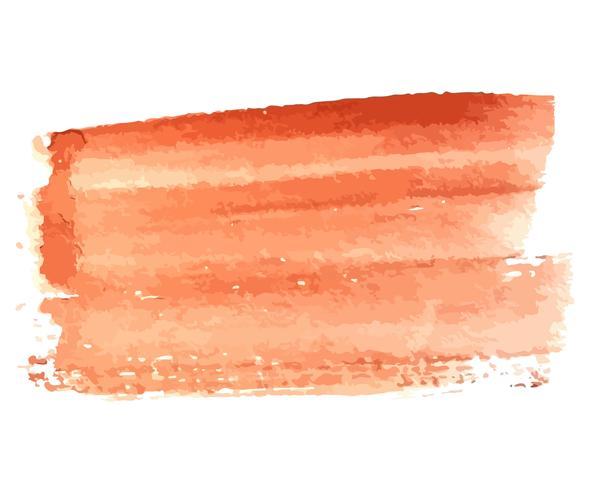 Brun Grunge vattenfärg Shape
