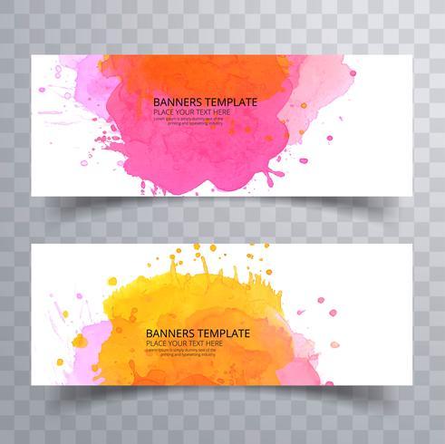 Diseño determinado del jefe colorido abstracto de la acuarela