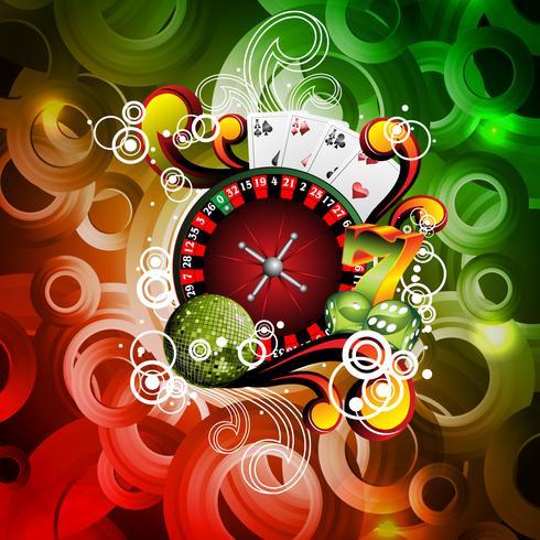 Casino-Themenabbildung