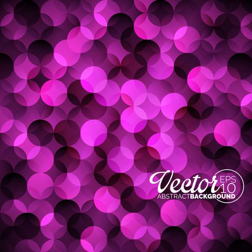 Abstract vector geometric circles background.
