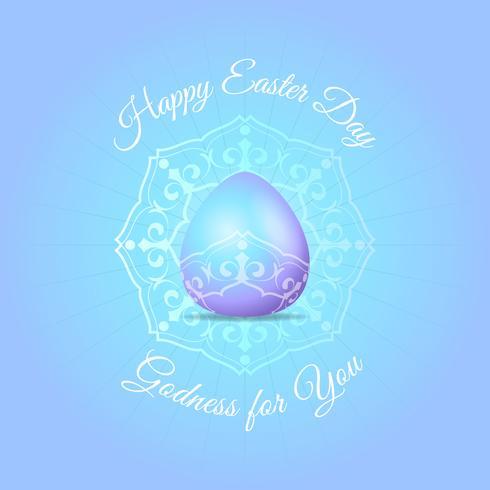 Fondo de púrpura de los huevos de Pascua