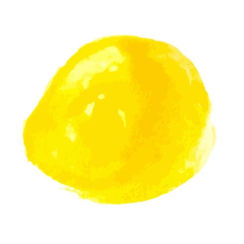 Yellow Watercolor Design