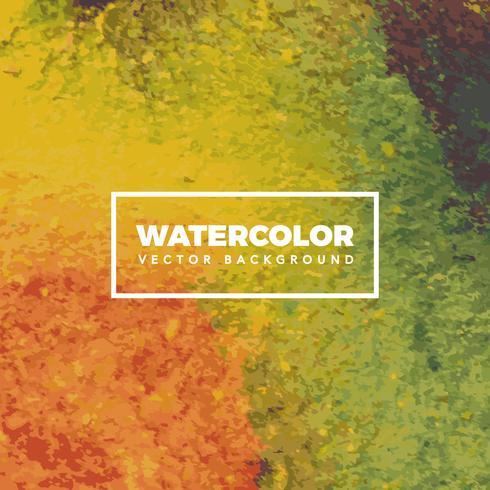 Color Watercolor Background