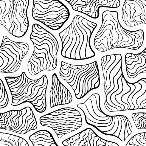 Abstract seamless pattern, tile pattern like zebra stripe.