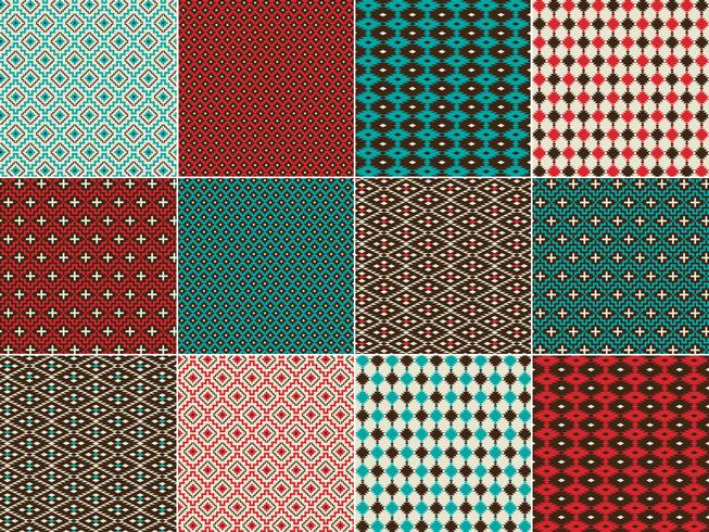 Native American Inspired Geometric Patterns