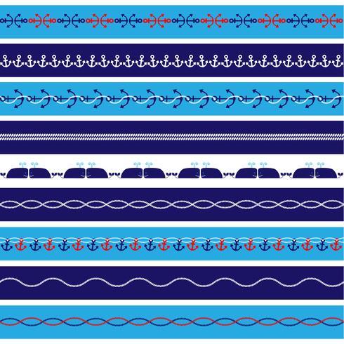 Nautical Borders Patterns