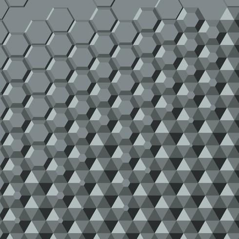 Fundo abstrato de polígono