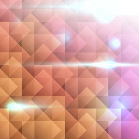 Kleurrijke abstracte achtergrond met vierkante vorm.