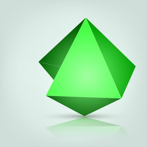 3 dimension of polygon vector.