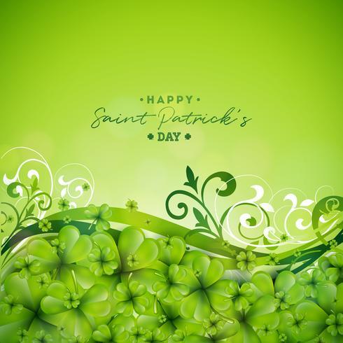 Saint Patrick's Day Background Design