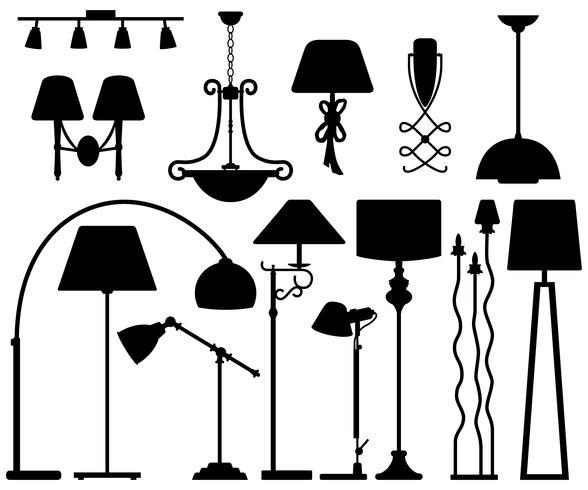 Lamp Design for Floor Ceiling Wall.