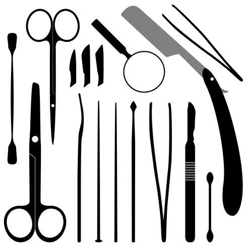 Medicinska verktyg vektor