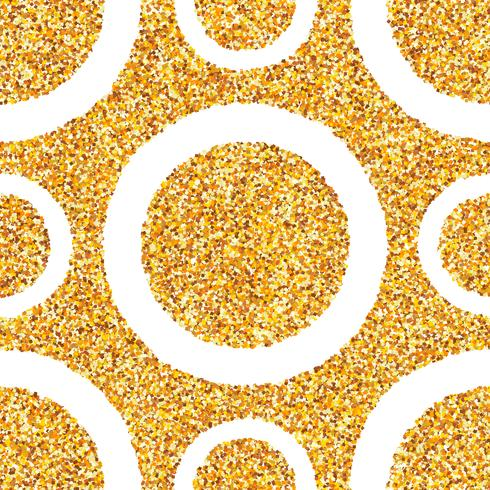 Fundo sem emenda abstrato da poeira de ouro.