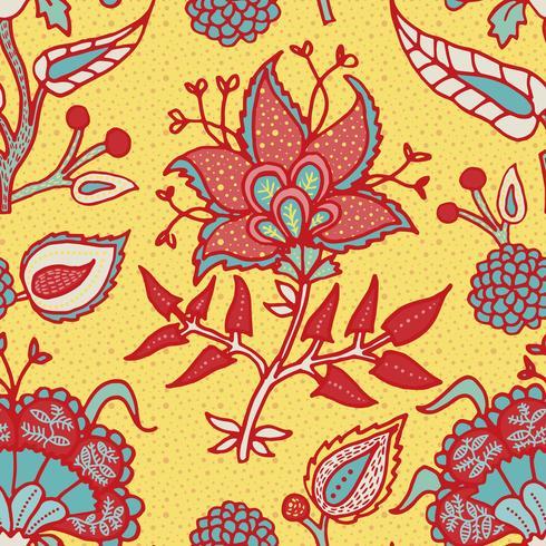 Indian National Paisley-Ornament für Baumwolle, Leinenstoffe.
