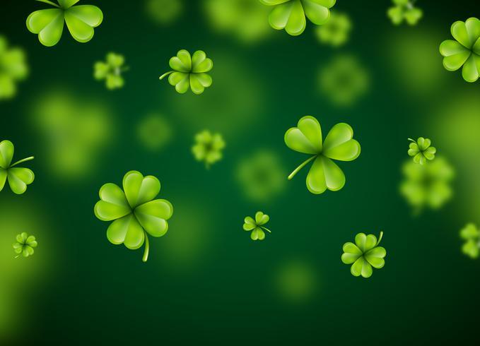 St Patrick's Day bakgrundsdesign vektor