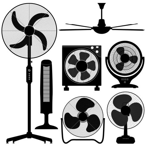 Standing Table Ceiling Fan Design.
