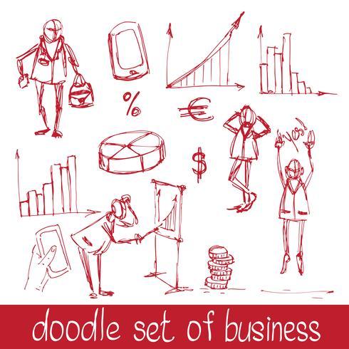 Doodle Geschäftsleute
