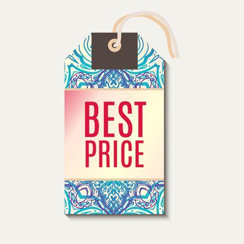 Tag pour vente discount Diwali bannière.