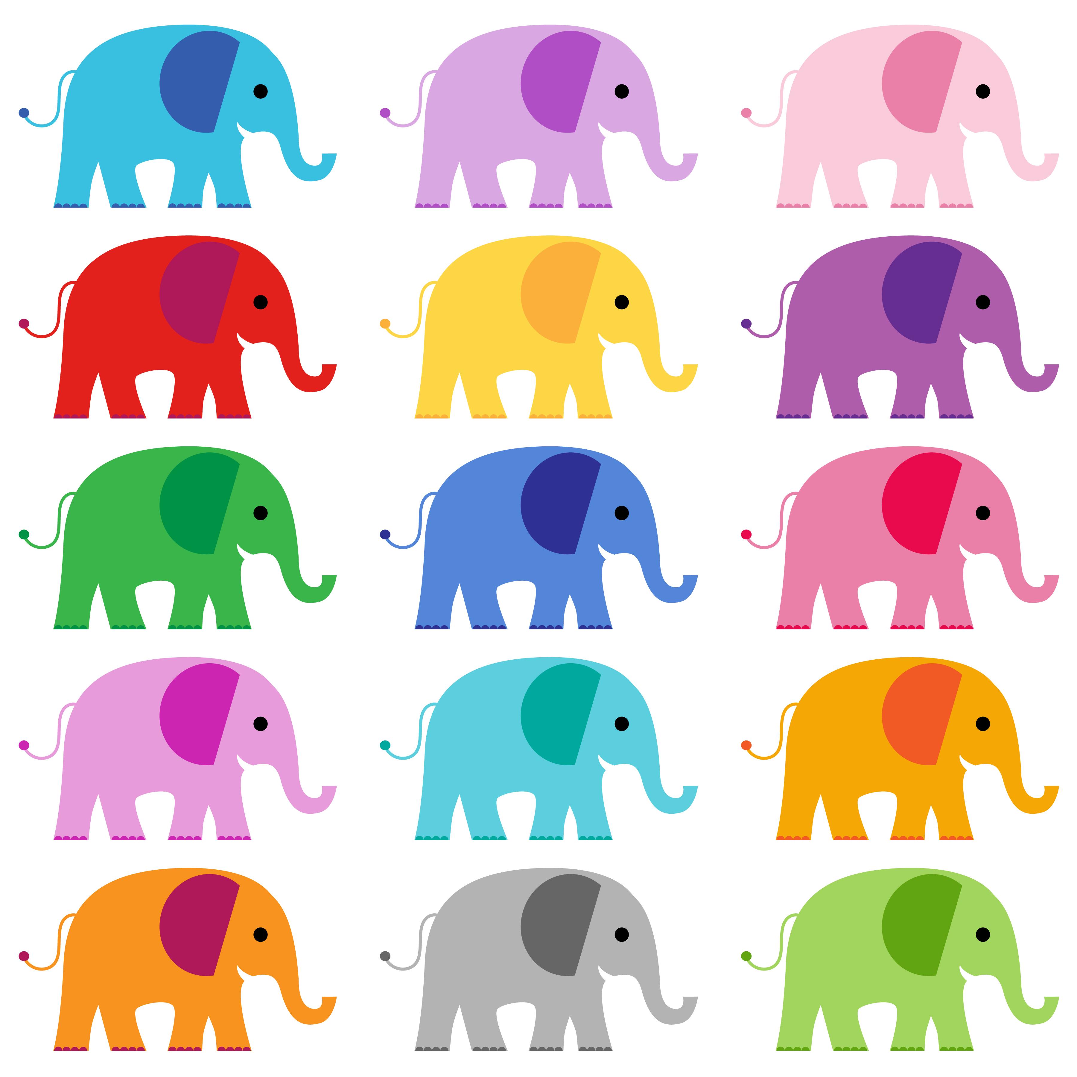 elephant clipart graphics - Download Free Vectors, Clipart ...