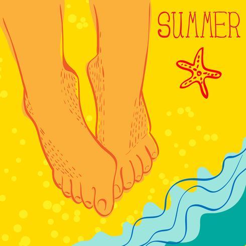 Concepto de verano