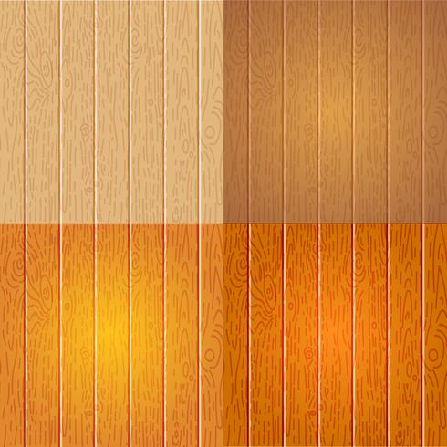 Set of Different wood texture